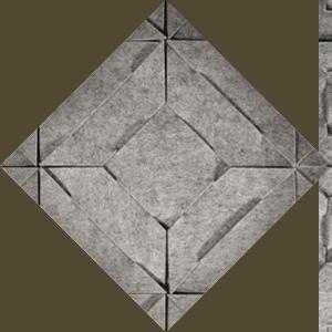 Detail of a Qvilt rug