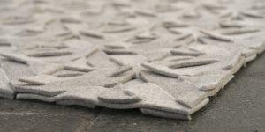 hoek detail of tough vloerkleed