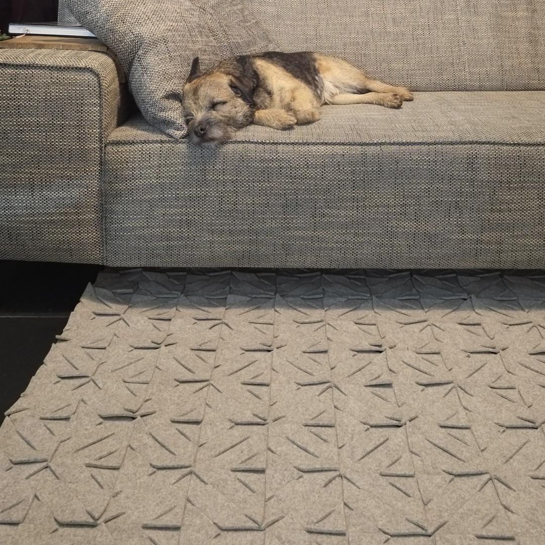 QVILT rugged, 2 tone pattern